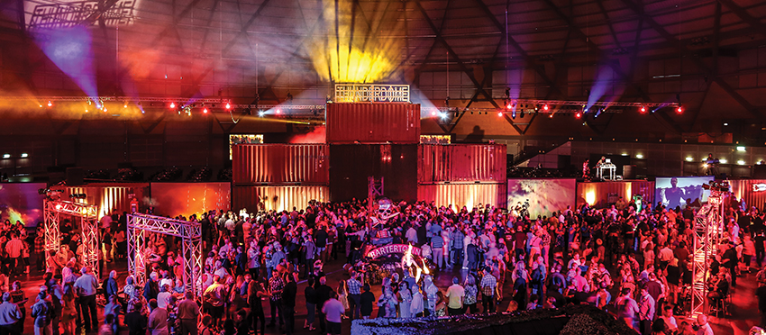 Sydney-based Funktionality marks its 15th year in 2015 of creating award-winning corporate and special events.